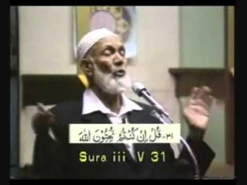 Ahmed Deedat - Dawah or Destruction ( Part 2 of 2 )
