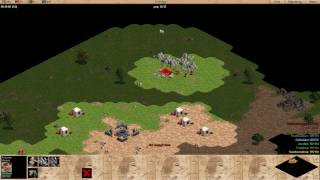 Age of Empires: Rise of Rome 1v7 Hard CPUs