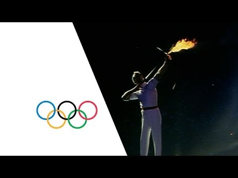 Barcelona 1992 Olympic Games - Olympic Flame & Opening Cerem