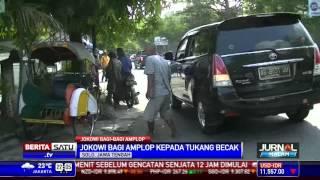 Jokowi bagi-bagi Amplop Kepada Tukang Becak Solo