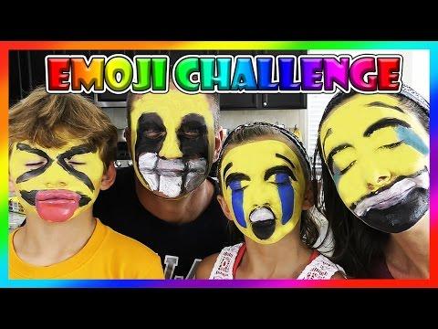 Emoji Face Paint Challenge