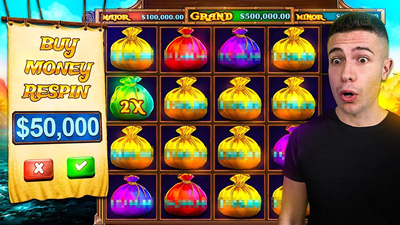 $50,000 Bonus Buy on PIRATE GOLD DELUXE 🦜 (50K Bonus Buy Series #08)