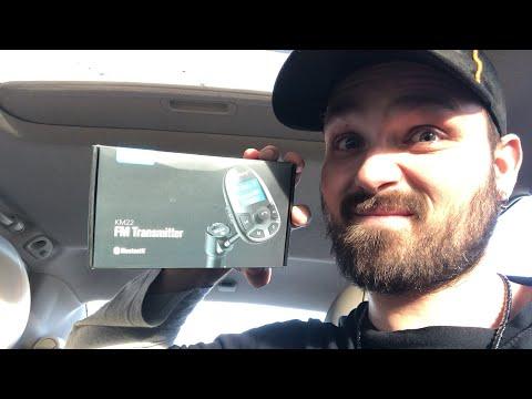 Nulaxy KM22 Bluetooth FM Transmitter Unboxing
