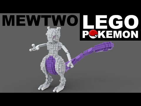 MEWTWO LEGO POKEMON (Custom Build)