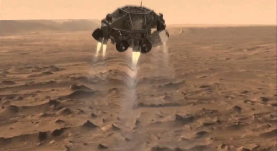 curiosity landing animation - photo #39