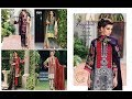Charizma Twill Linen Suit With Embroidered Shawl Vol-01 Winter Collection 2018-19