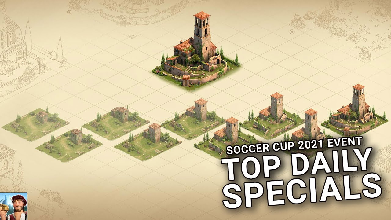MooingCat reveals his top Daily Special picks for Soccer Cup 2021! | Forge of Empires
