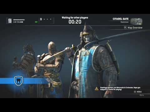 For Honor End of BETA
