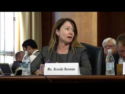 Sen. Flake Questions Burman on Water Policies