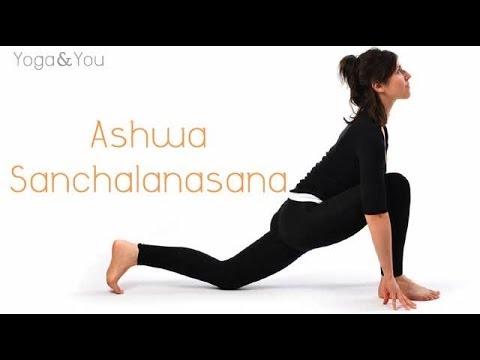 How to do Ashwa Sanchalanasana - YouTube