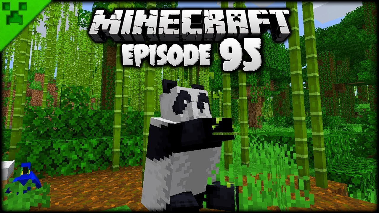 Minecraft Bamboo Jungle Pandas Loom Python S World Minecraft
