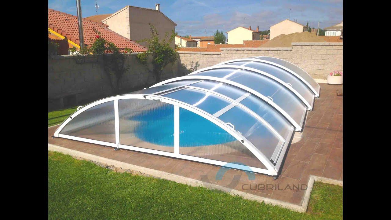 modelo cubierta de piscina san marino telescopico