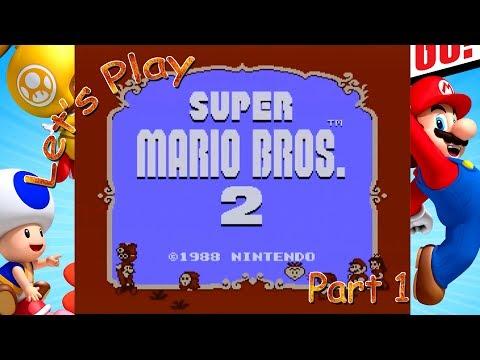 Let's Play Super Mario Bros. 2 - Part 1