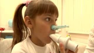 детская клиника УльтраКИДС  Функция внешнего дыхания