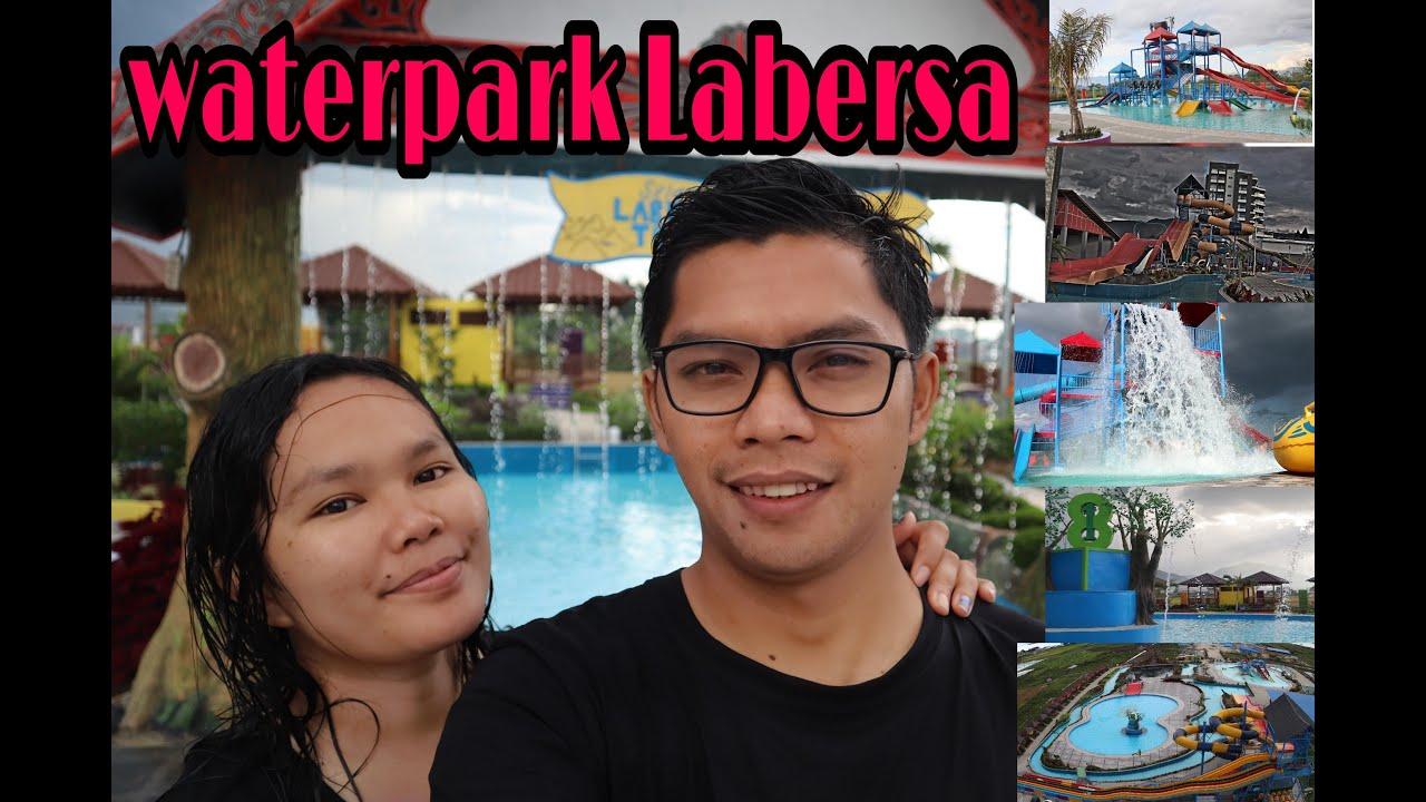 vlog waterpark LABERSA Balige waterpark terbesar - YouTube