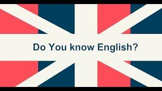 ТЕСТ. На знание Английского языка.