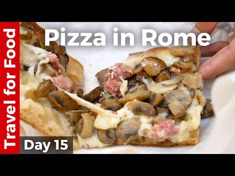 Incredible Pizza, Espresso, Fall-Apart Tender Oxtail, and Vatican City Attractions - ROME, ITALY!