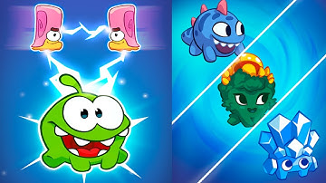 Om Nom: Merge - Merge Cut the Rope characters - Gameplay Android, iOS