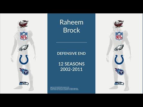 Raheem Brock: Football Defensive End