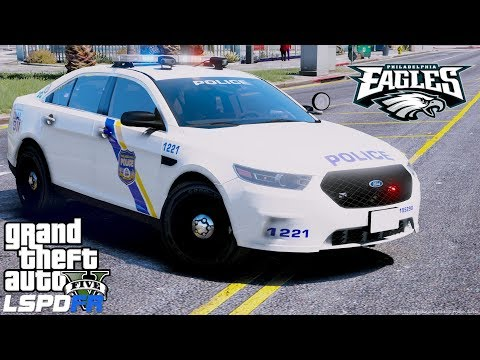 GTA 5 LSPDFR Police Mod #600 Philadelphia Police Department - Congrats To The Eagles - Philly Patrol