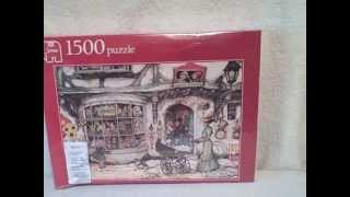 1500 Piece Jigsaw Puzzle New Unopened Jumbo 01888 The Toy Shop Upc 8710126018880