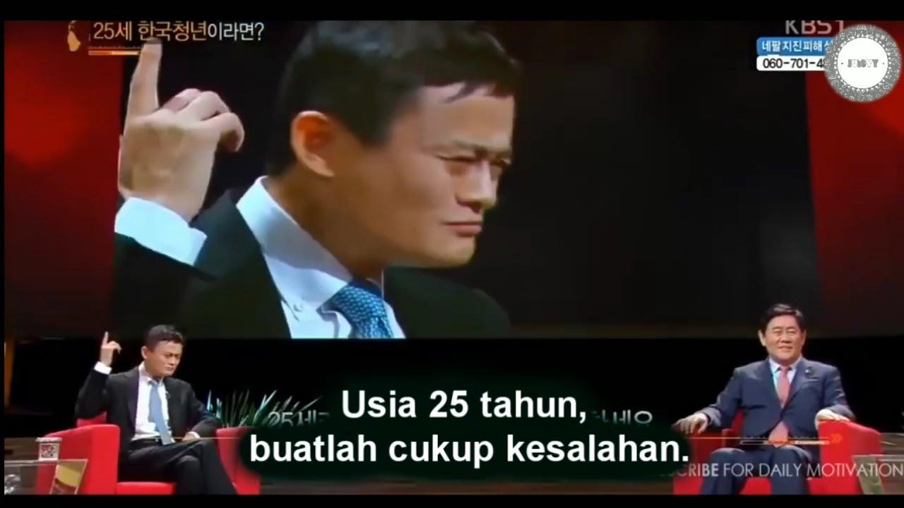 Jack Ma Alibaba Diusia 25 Tahun Jangan Takut Jatuh Bangkit Lagi