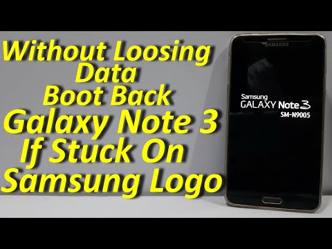 How To Boot Galaxy Note 3 Stuck On Samsung Logo Without Loosing Data (Urdu+Hindi)