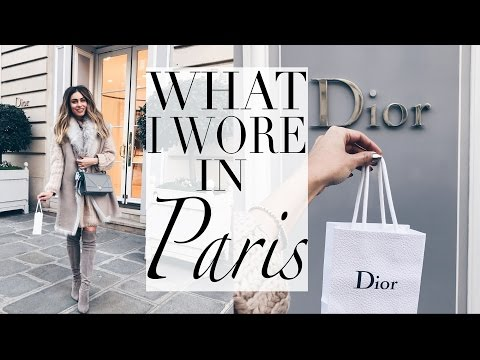 WHAT I WORE AND BOUGHT IN PARIS WITH GIORGIO ARMANI | Lydia Elise Millen