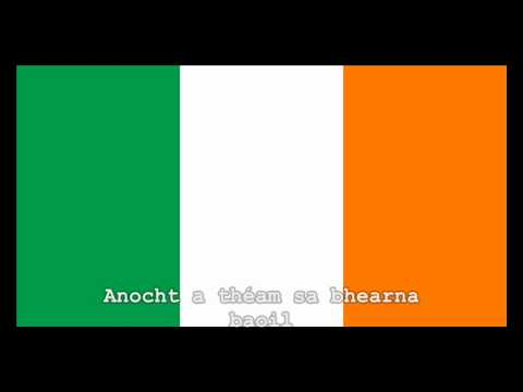 National Anthem of Ireland Instrumental with lyrics