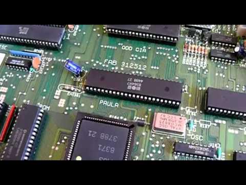 Amiga Chipsets: OCS, ECS & AGA