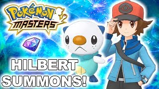 NEW HILBERT AND OSHAWOTT BANNER CRAZY SUMMONS! ARE THE BANNER RATES RIGGED??? | Pokemon Masters