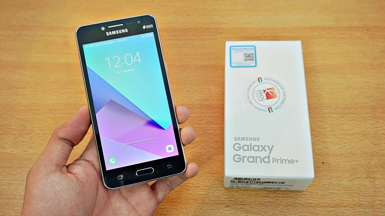 Samsung Galaxy Grand Prime Plus Unboxing First Look 4k Youtube