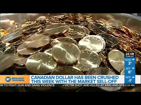 Canadian Dollar Crushed This Week With Market Sell-off