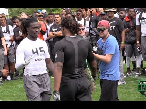 Watch nation's No. 1 prospect Najee Harris face No. 2 Dylan Moses at The Opening