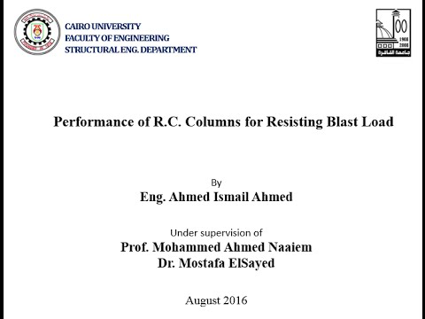 Behavior of Reinforced Concrete Columns in Resisting Blast L
