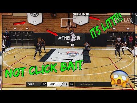 IT LEAKED!!! NBA LIVE 18 DREW LEAGUE GAMEPLAY!! THE BLOCKS THO!!!