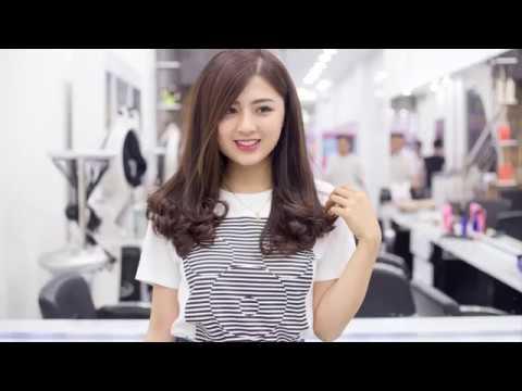 Kểu Tóc Uốn Đuôi Đẹp Dễ Thương HOT Nhất 2018 Hair Salon Dũng Hàn Châu