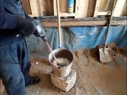 Как приготовить цементный раствор для штукатурки