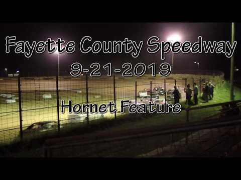 Fayette County Speedway Hornet Feature September 21 2019