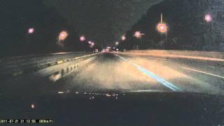 [블랙뷰/DR400G-HD] 맑은날 야간 주행영상(하이…