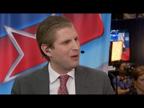 Eric Trump: We absolutely paid federal income tax