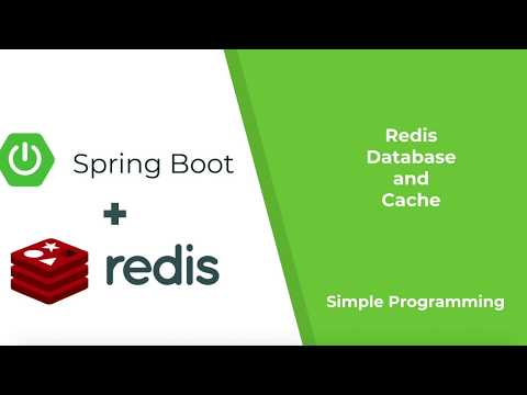 Spring Boot with Redis as Database and Cache | Redis Series PART2