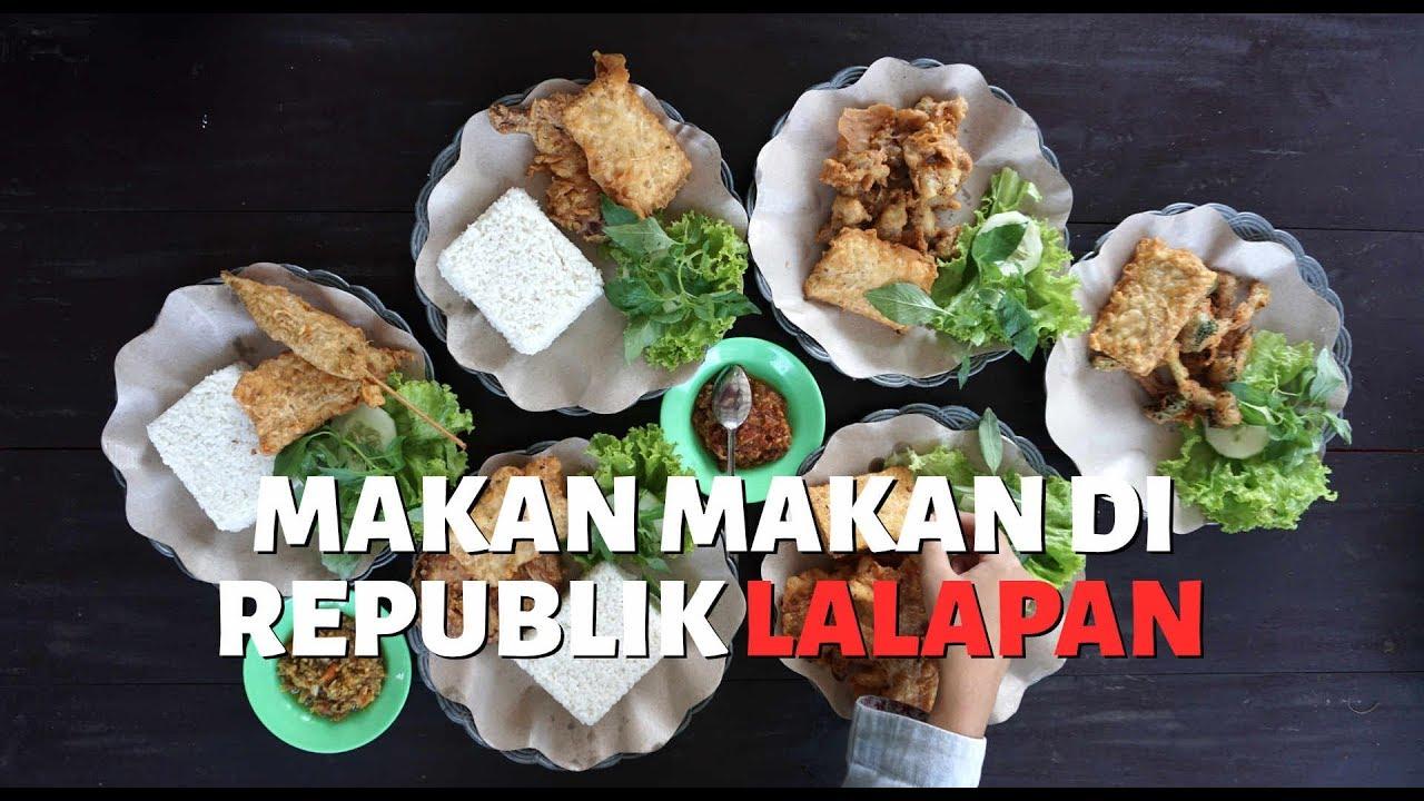 Makan Makan di Republik Lalapan, Tempat Kulineran di Blitar