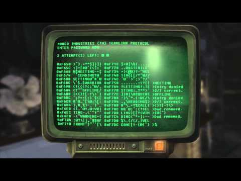 Fallout New Vegas Terminal Hacking Guide (Prospector Saloon)