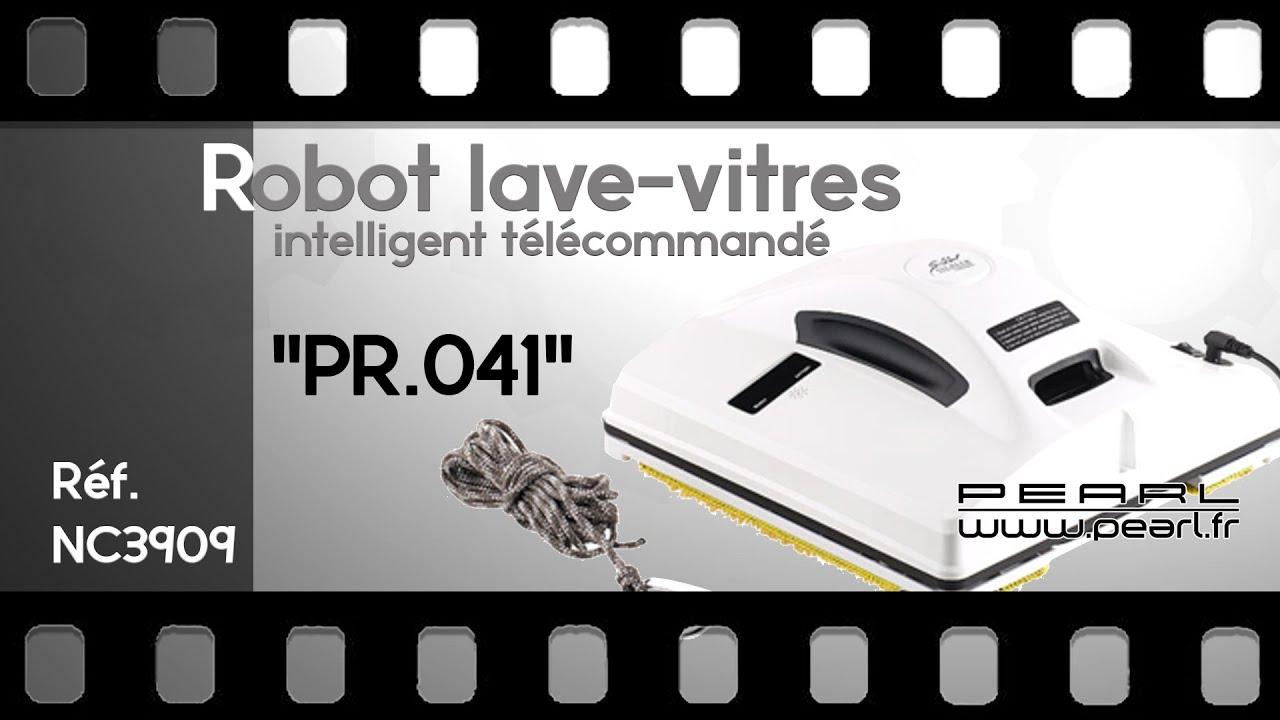 lyrlody Robot Nettoyeur de Vitres Navigation Intelligente 3 Programmes de Nettoyage Robot Laveur de Vitre Intelligent Anti-Chute Machine Nettoyeur de Vitres Noir Prise europ/éenne