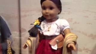 Josefina's Family Invites Friends To Come Taste Fry Bread.  American Girl Fun! Hd