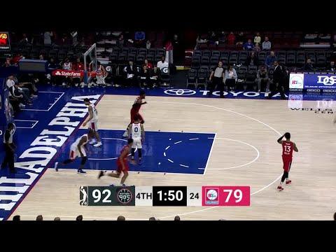 Bruno Caboclo Posts 14 points & 10 rebounds vs. Delaware 87ers