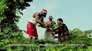 Denilson Igwe Skit for Kings maker concert with Harrysong