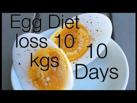 Egg Diet For Weight Loss - How I Lose 10 Kgs In 1 Weeks