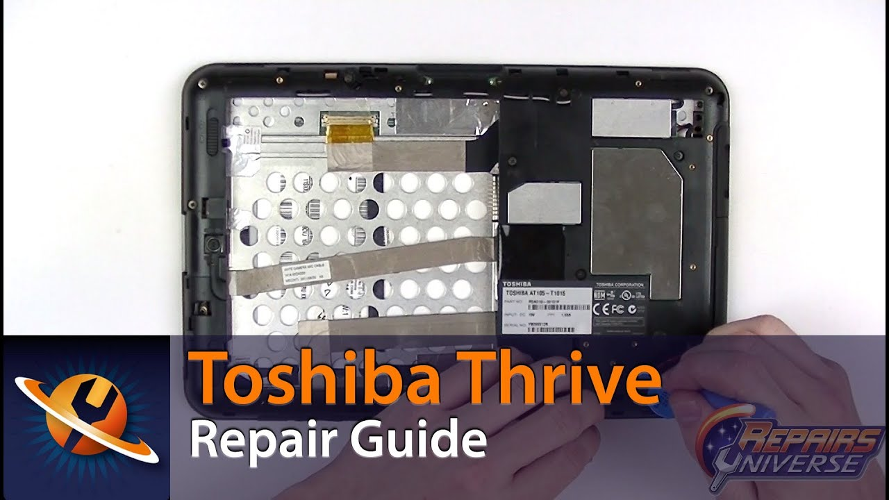 Toshiba Thrive Screen Replacement Repair Guide